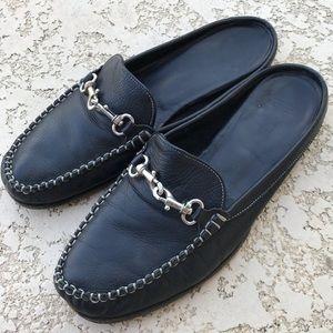 COACH Loafer Mule Horsebit Moccasin Slip On Size 8